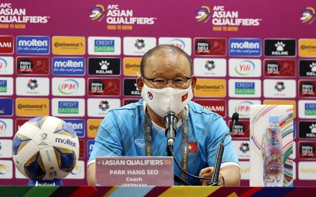 HLV Park Hang-seo thừa nhận áp lực trước cuộc đối đầu với ĐT Trung Quốc