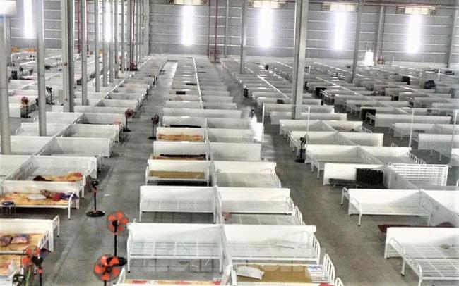 Bệnh viện dã chiến lớn nhất nước ở Bình Dương đã trống giường