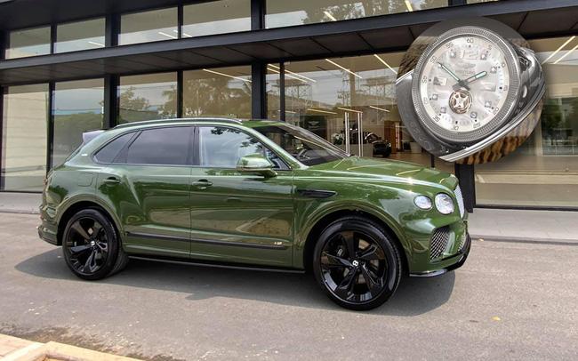 Đồng hồ kim cương trên Bentley Bentayga của đại gia Hà thành có giá gần 3 tỷ đồng, đắt hơn một chiếc Mercedes-Benz GLC 300
