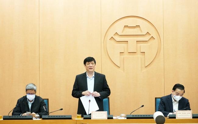 Bộ trưởng Bộ Y tế: Hà Nội cân nhắc cho các quận, huyện có thể áp dụng chỉ thị 15, giãn cách ở mức độ nhẹ