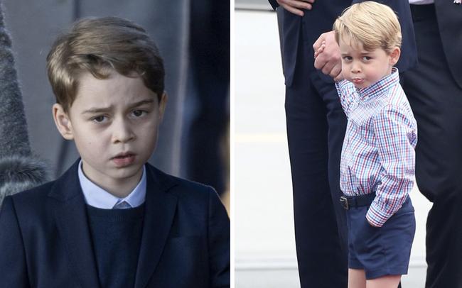 """Đức Vua tương lai của Hoàng gia Anh: Những khoảnh khắc """"thần thái ngất trời"""" của Hoàng tử bé George, mới 7 tuổi nhưng đã ra dáng anh cả"""