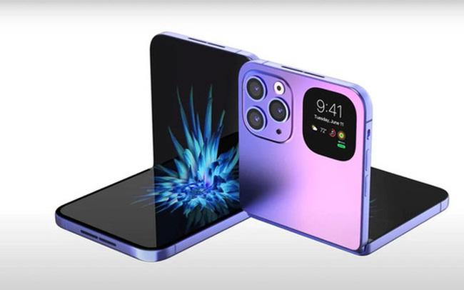 Apple sẽ ra mắt iPhone màn hình gập dạng vỏ sò trong tương lai?