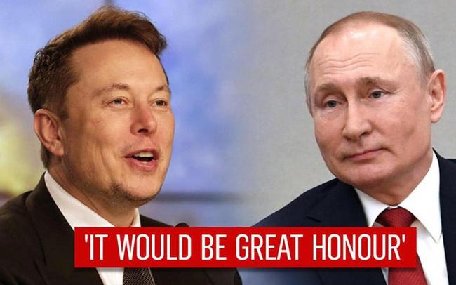Elon Musk mời Tổng thống Putin nói chuyện trên một ứng dụng không thể ghi âm hoặc lưu trữ