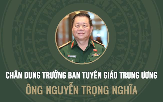INFOGRAPHIC: Chân dung tân Trưởng ban Tuyên giáo Trung ương Nguyễn Trọng Nghĩa