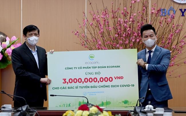Tập đoàn Ecopark ủng hộ 13 tỷ đồng phòng chống dịch Covid-19