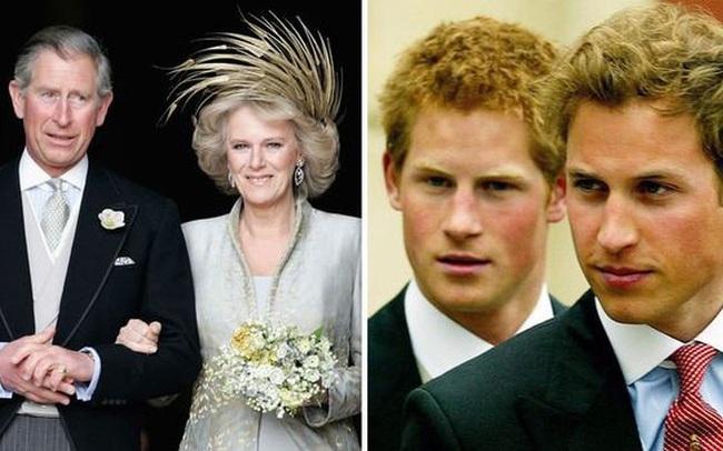 """Là """"người thứ ba bị ghét nhất nước Anh"""", Công nương Camilla có mối quan hệ dì ghẻ - con chồng như thế nào với anh em William - Harry?"""