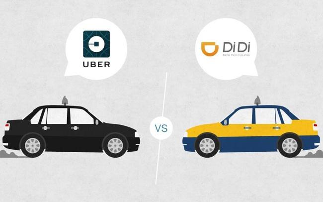 Tại sao Didi của Trung Quốc thành công rực rỡ, trong khi Uber thì vật lộn từng ngày?