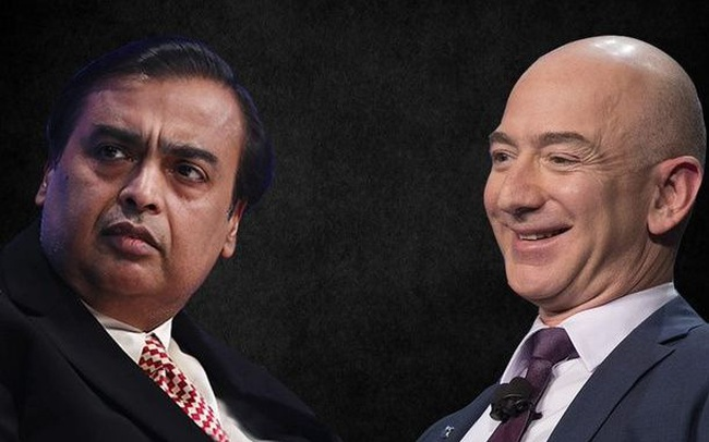 Quyết đấu giới siêu giàu: Jeff Bezos chặn thương vụ 3,4 tỷ USD của tỉ phú Ấn Ambani