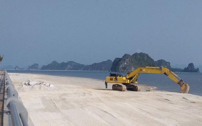 Lấn chiếm vịnh trái phép, chủ dự án BĐS 'hót' nhất Vân Đồn buộc trả nguyên trạng