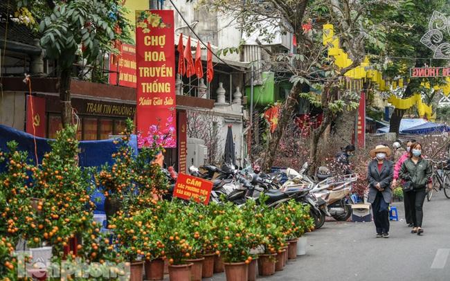 Ghé thăm chợ hoa cổ nhất Hà Nội giữa mùa dịch COVID-19