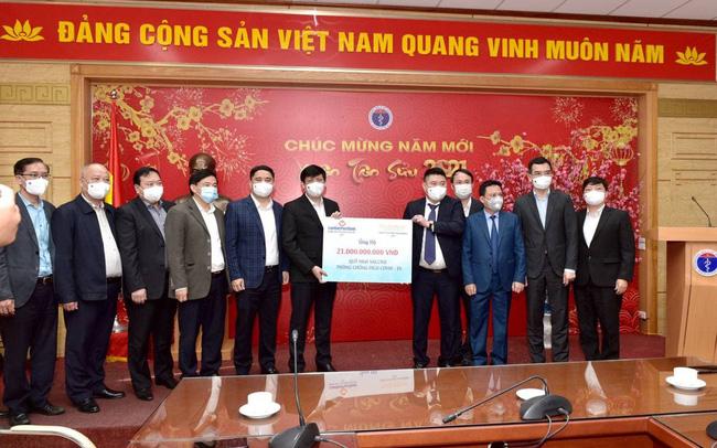 Công ty Cổ phần Thaiholdings đồng hành với Bộ Y tế trong công tác phòng, chống dịch Covid 19