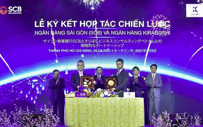 SCB ký kết hợp tác chiến lược với Ngân hàng Kiraboshi