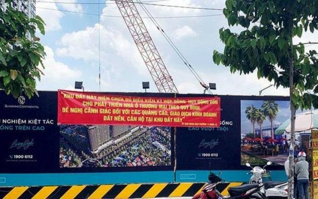 Sở Xây dựng TP.HCM khẳng định chưa từng cấp Giấy phép xây dựng dự án Sunshine Continental
