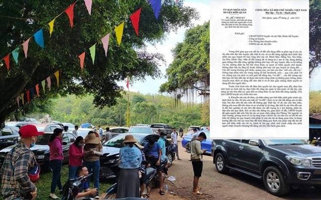 Cảnh giác với cơn sốt đất Bình Phước