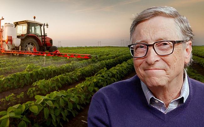 Hé lộ lý do khiến tỷ phú Bill Gates mua nhiều đất nông nghiệp tại Mỹ