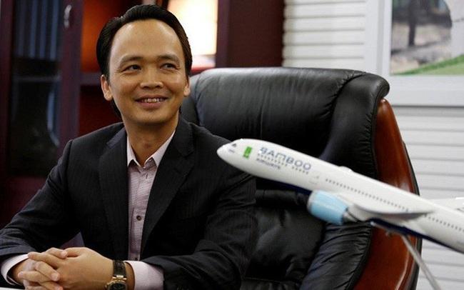 Sở hữu tại Bamboo Airways: FLC Group giảm xuống 39,4%, ông Trịnh Văn Quyết và FLC Faros cầm 44%