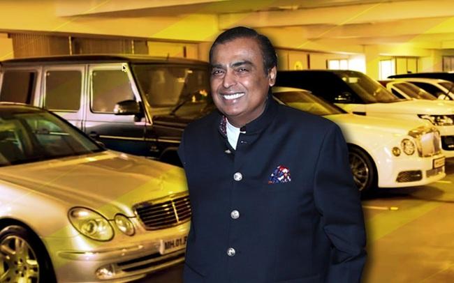 """Tỷ phú giàu nhất Ấn Độ Mukesh Ambani được bảo vệ nghiêm ngặt như """"tài sản quốc gia"""": 55 vệ sĩ cao cấp, dàn siêu xe hộ tống 24/7"""