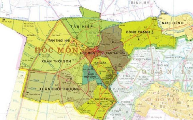 TP.HCM dự kiến chuyển 3 huyện lên quận trước năm 2026