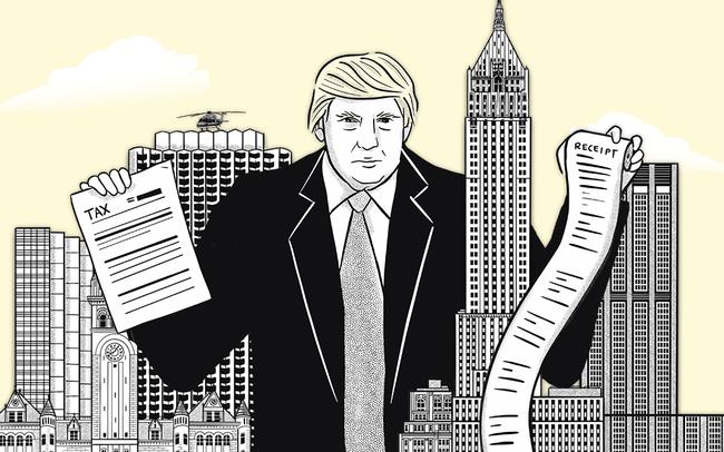 Ông Trump sau khi rời Nhà Trắng: Đối diện với đế chế kinh doanh 'ngập' nợ, nguồn thu từ những 'con gà đẻ trứng vàng' một thời sụt giảm mạnh