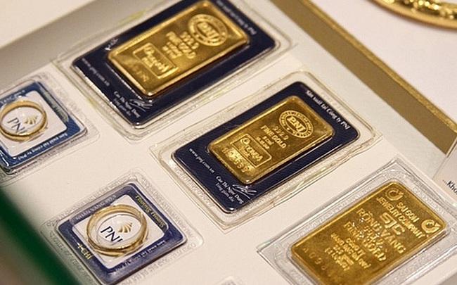 Giá vàng lại đảo chiều giảm mạnh