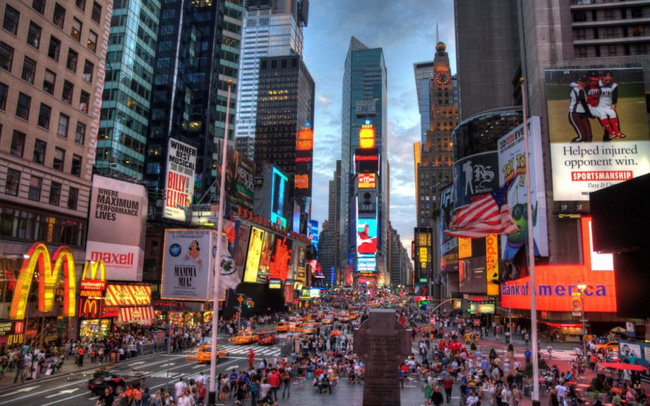 New York giữ vững ngôi đầu trung tâm tài chính thế giới, London hụt hơi ở vị trí thứ 2