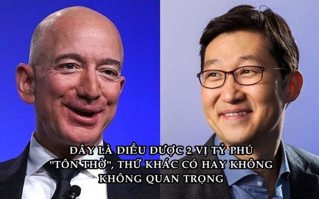 Cả Jeff Bezos và tỷ phú giàu bậc nhất Hàn Quốc chỉ tôn thờ duy nhất 1 điều, giúp họ trở nên giàu có và thành công
