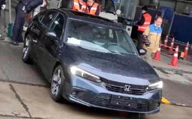 Honda Civic 2022 lộ ảnh thật