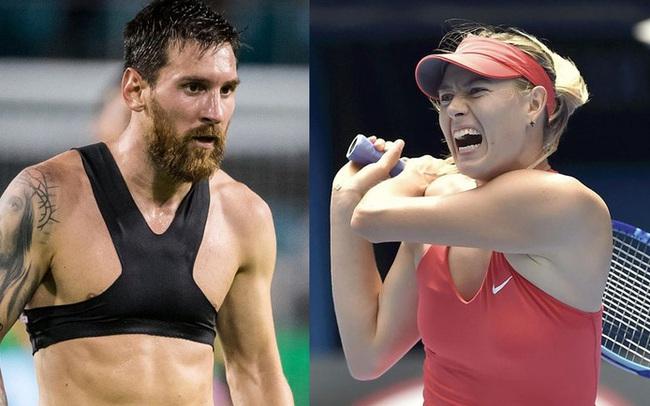 """Vì sao Messi mặc """"áo ngực"""" hay Sharapova thường la hét khi thi đấu? Tìm hiểu những bí mật ít người biết tới trong thể thao"""