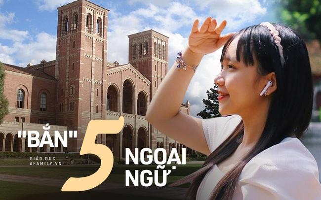 """Nữ sinh mới 18 tuổi đã học vượt cấp, là sinh viên năm 3 của Đại học California danh giá, tiết lộ bí kíp """"bắn"""" 5 ngoại ngữ cùng lúc"""