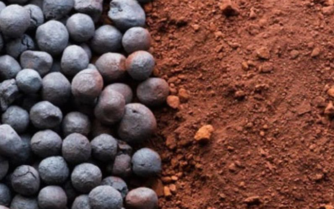 Giá quặng sắt tăng trở lại sau 4 tuần giảm liên tiếp