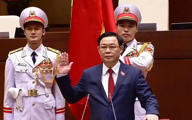 Toàn văn phát biểu đầu tiên của Chủ tịch Quốc hội Vương Đình Huệ