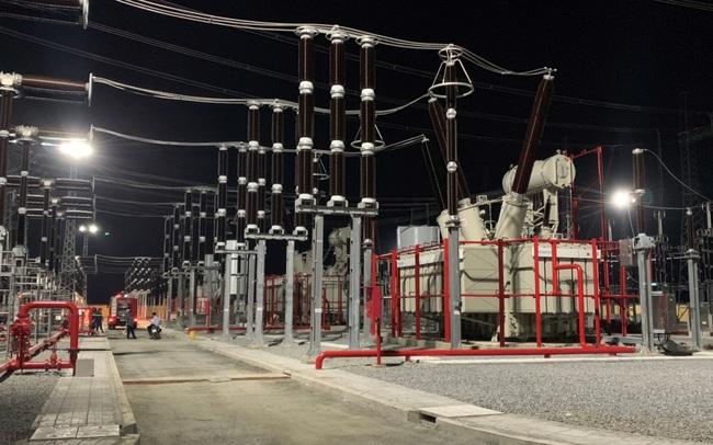 Hoàn thành hạng mục mở rộng TBA 500 kV Dốc Sỏi