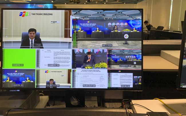 FPT tổ chức đại hội cổ đông 2021 theo hình thức 100% trực tuyến
