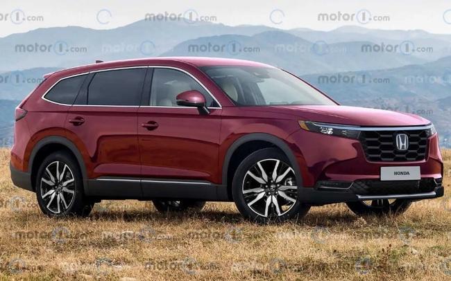 Honda CR-V 2023 trông ra sao?