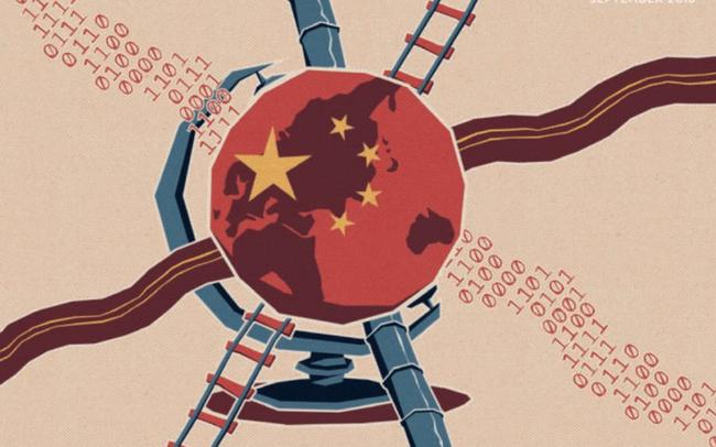 """Một vành đai - một con đường của Trung Quốc đang dần trở nên """"số hoá"""" như thế nào?"""