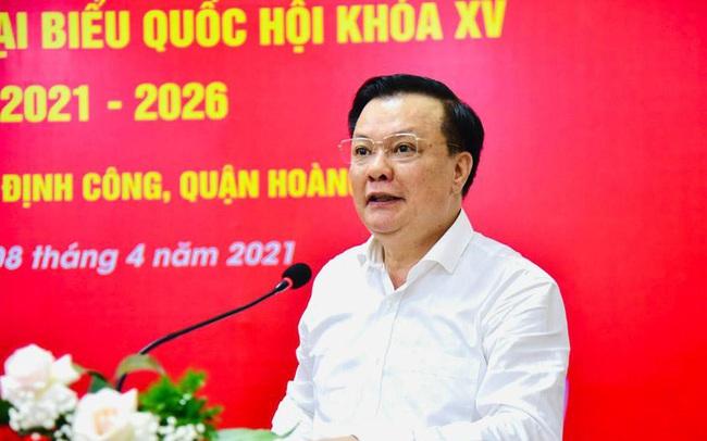 Giới thiệu chữ ký Bí thư Thành ủy Hà Nội Đinh Tiến Dũng