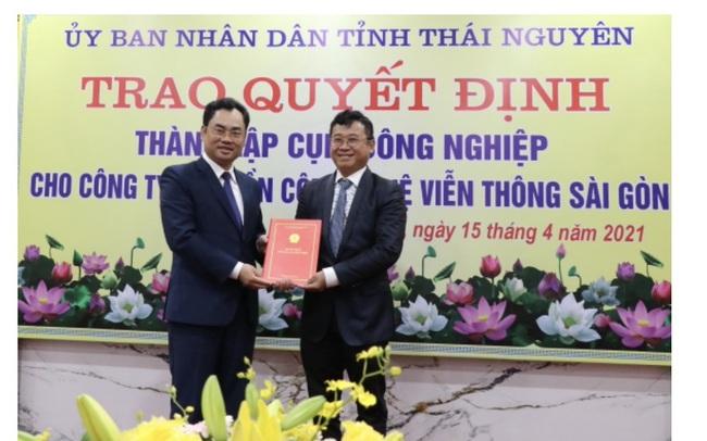 Công ty ông Đặng Thành Tâm đầu tư 3 cụm công nghiệp quy mô hơn 165ha tại Thái Nguyên