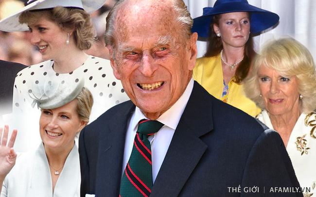 Quan hệ tốt đẹp của Hoàng tế Philip và các nàng dâu: Công nương Diana nhận sự đối đãi đặc biệt nhưng vẫn chưa phải là người được yêu quý nhất