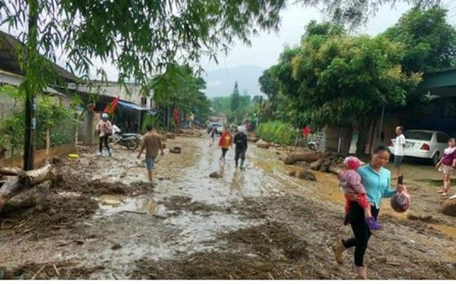 Lũ ống đổ về trong đêm tại Văn Bàn, Lào Cai làm 3 người chết, mất tích