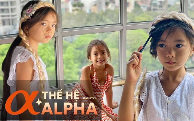 """Alpha kid nhà ca sĩ Đoan Trang: Nhan sắc khiến dân tình phát sốt, học trường 500 triệu đồng/năm nhưng chỉ một chi tiết """"dây buộc tóc"""" cũng đủ biết được mẹ dạy dỗ cẩn thận thế nào"""