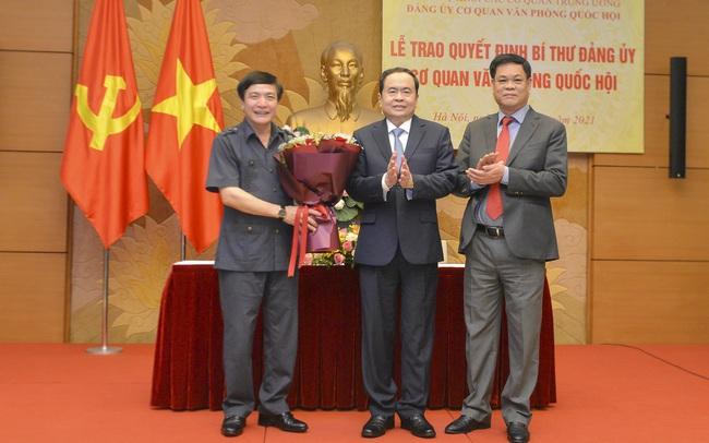 Ông Bùi Văn Cường được bổ nhiệm giữ chức Chủ nhiệm Văn phòng Quốc hội