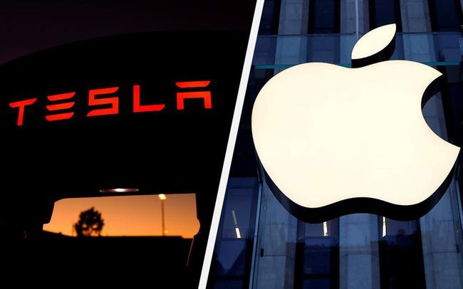 Apple bí mật mua pin của Tesla