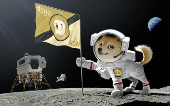 """Ngược sóng thị trường, Dogecoin """"một mình một phách"""" khi tiền số lao đao"""