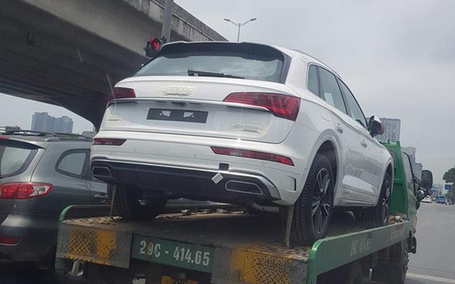Audi Q5 2021 chính hãng đầu tiên xuất hiện tại Việt Nam - Đối thủ ngang tầm Mercedes-Benz GLC và BMW X3