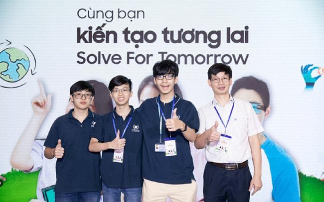 Tiếp tục đồng hành cùng thế hệ trẻ Việt Nam, Samsung chính thức khởi động cuộc thi Solve for Tomorrow 2021