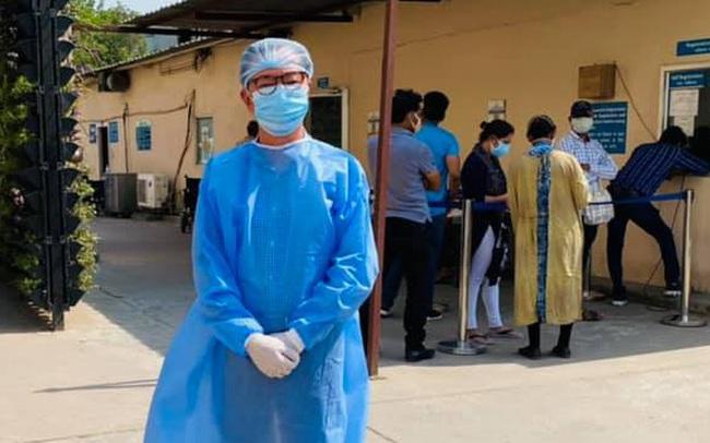 """Đại sứ Việt Nam giữa """"bão"""" Covid-19 ở Ấn Độ: """"Chưa bao giờ thấy lằn ranh giữa cái chết và sự sống lại mỏng manh đến thế"""""""