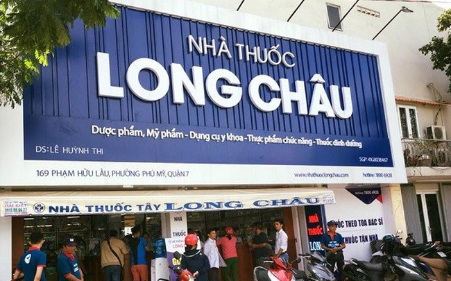 Chuỗi nhà thuốc Long Châu tiếp tục tăng trưởng 144% trong quý 1/2021, đã có 216/222 cửa hàng phát sinh doanh thu