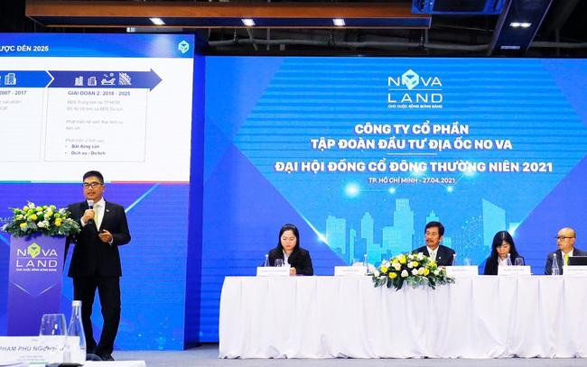 ĐHCĐ Tập đoàn Novaland: Tổng giá trị phát triển dự án của quỹ đất vào khoảng 45 tỷ USD, bổ sung thêm 10.000ha trong 10 năm tới, khởi động BĐS công nghiệp