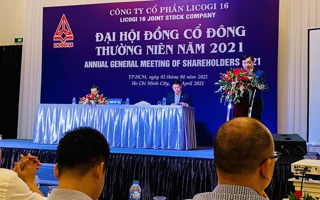 ĐHĐCĐ Licogi 16 (LCG): Sẽ phát hành 500 tỷ cổ phần mới, nếu không thành sẽ được ông Nguyễn Văn Nghĩa mua toàn bộ