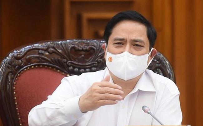 Thủ tướng Phạm Minh Chính họp khẩn về phòng, chống dịch COVID-19